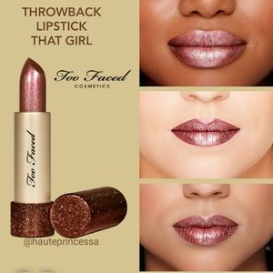 💄Too Faced Throwback lipstick That Girl